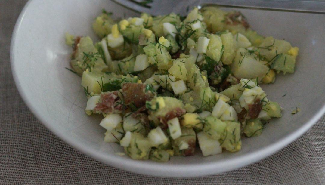 Spring Potato Salad   Food Remedies